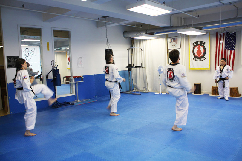 Tae Kwon Do Class in Session