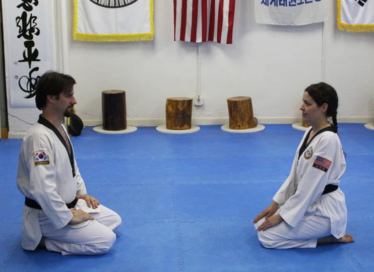 Sitting Techniques Form - Self Defense