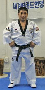 Master Kim in his Midtown New York City School