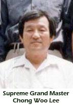 Supreme Grandmaster Chong Woo Lee