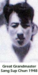 Great Grandmaster Sang Sup Chun